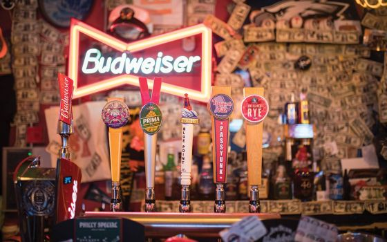 Passyunk Avenue American beer on tap