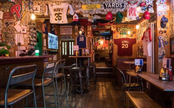 Passyunk Avenue Baseball themed bar in London
