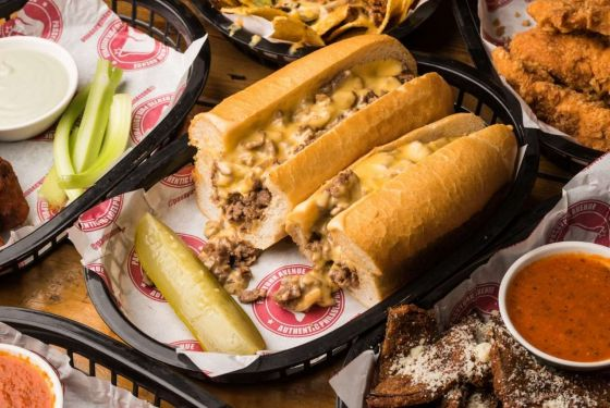 Passyunk Avenue Famour Cheesesteak Sandwich in London